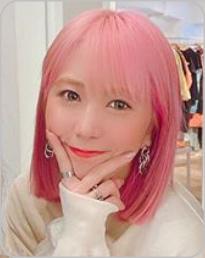 つぼみリーダーゆうか、髪色ピンク