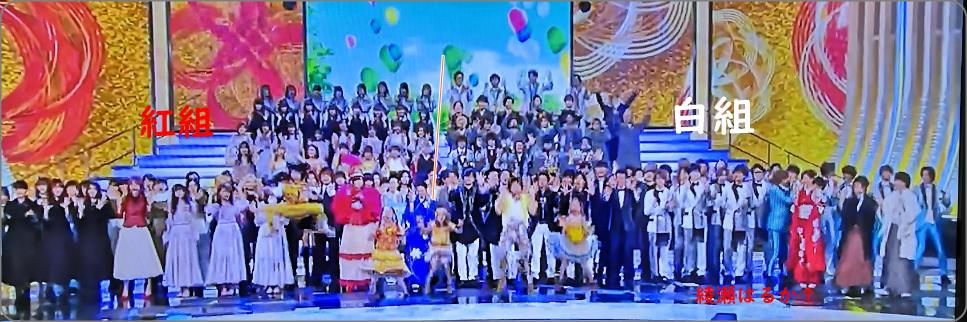 NHK紅白歌合戦、全体画像