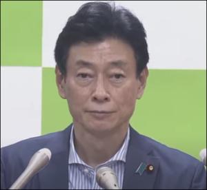 吉村知事より西村経済再生担当相がイケメン