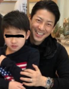 富川美季、子供写真