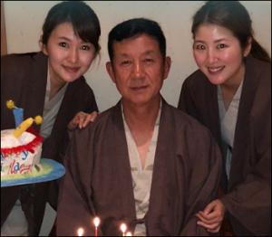 新井貴子の家族画像