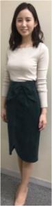 森川アナウンサーの衣装