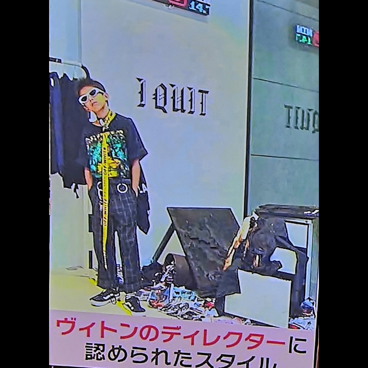 YOSHIの人生を変えたファッション。首に巻いたベルト5万円。