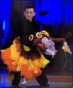 加藤タキ、社交ダンス