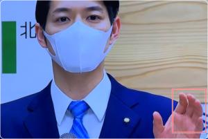 鈴木直道はマスク姿イケメン!